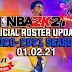 NBA 2K21 OFFICIAL ROSTER UPDATE 01.02.21 LATEST TRANSACTIONS + INJURY UPDATES