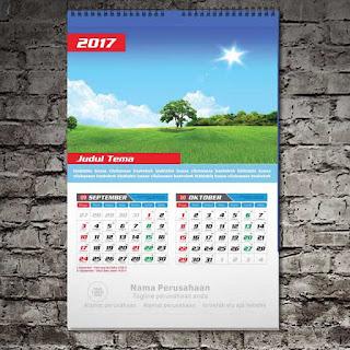 Download Gratis Free Template Kalender 2018 Lengkap Hijriyah Dan