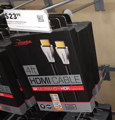 HDMI Cable for $24!  Where are the cheap cables?