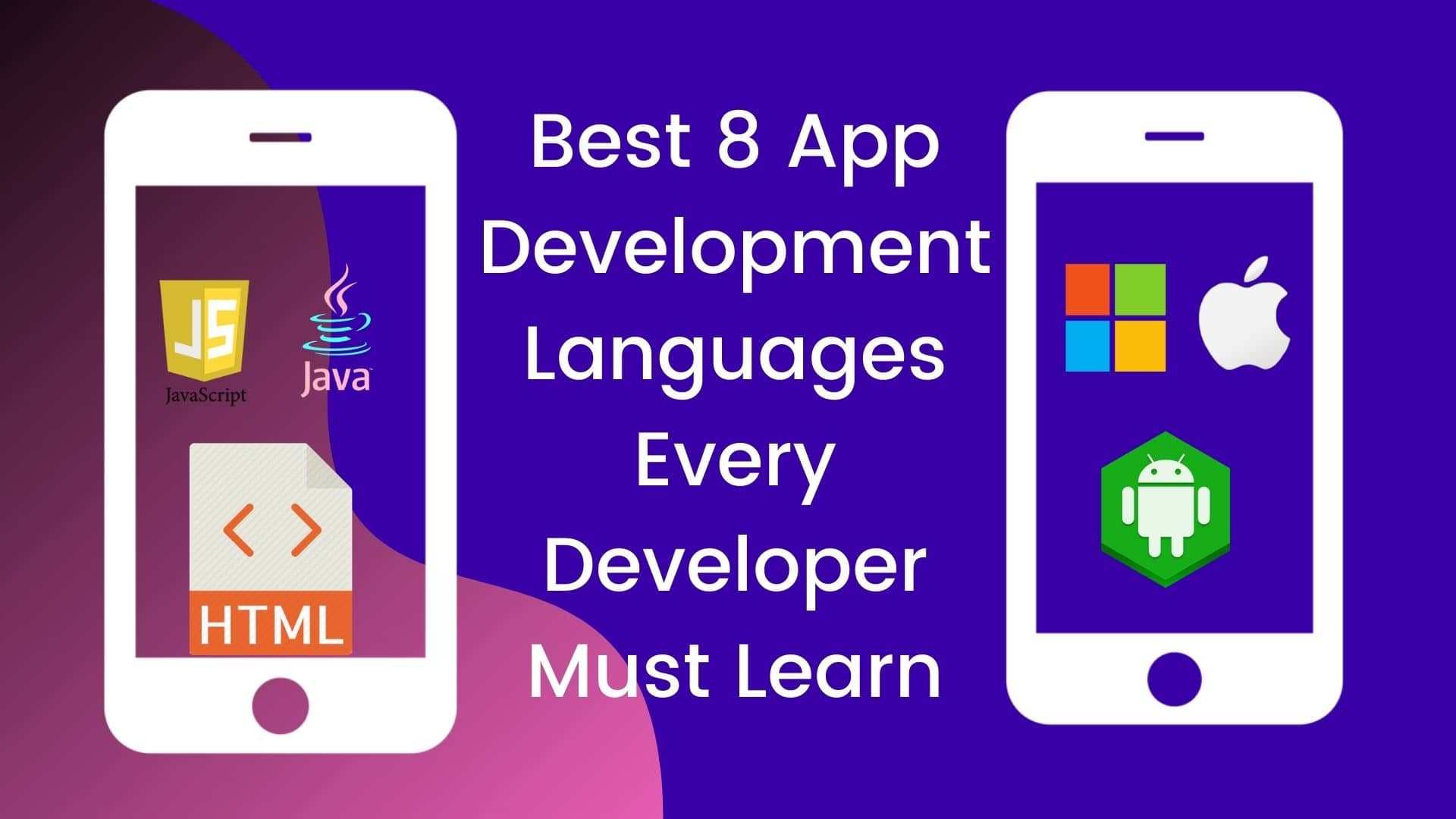 App Development Languages Every Developer Must Learn