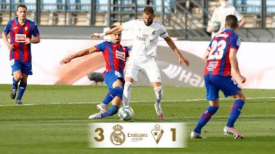 ملخص واهداف مباراة ريال مدريد وايبار 3-1 بالدوري الاسباني