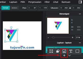 cara gabungkan 2 foto menjadi 1 lewat HP android tanpa aplikasi tambahan