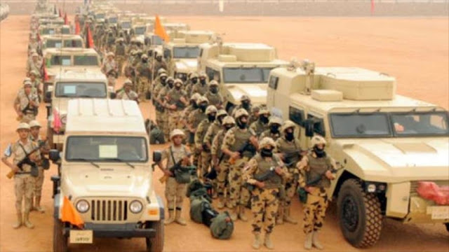 El Ejército egipcio mata a 52 terroristas en el Sinaí