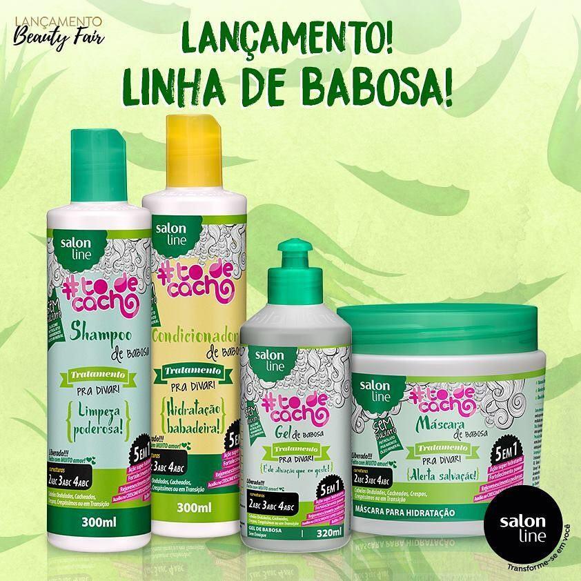 LINHA DE BABOSA da Salon Line