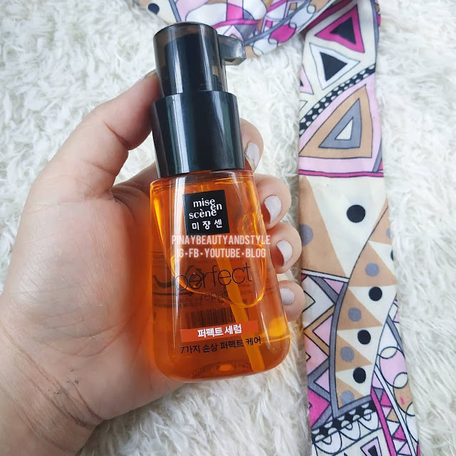 Mise En Scene Damage Care Perfect Repair Serum Review! Is This The Best Hair Serum for Dry and Colored Hair?