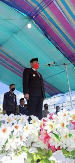 Pjs. Bupati Boltim Christian Talumepa Pimpin Upacara Hari Pahlawan