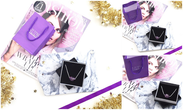 Christmas: Nude Jewellery Amethyst Necklace