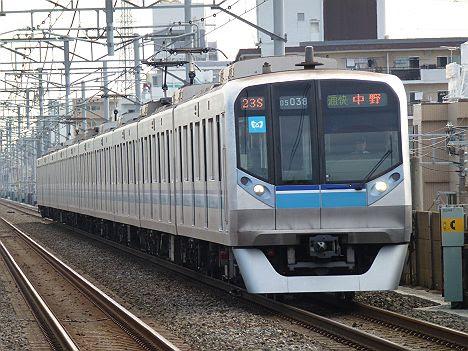 東京メトロ東西線 通勤快速 中野行き3 05N系