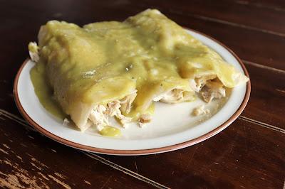 Authentic Enchiladas Verdes #CincodeMayoRecipe