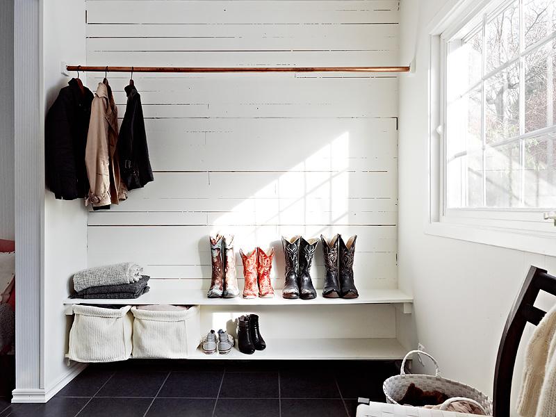 It's a house en av Sveriges största inredningsbloggar Klädhängare