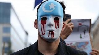 احتجاجات للإيغور في أنقرةضد زيارة وزير الخارجية الصيني لتركيا