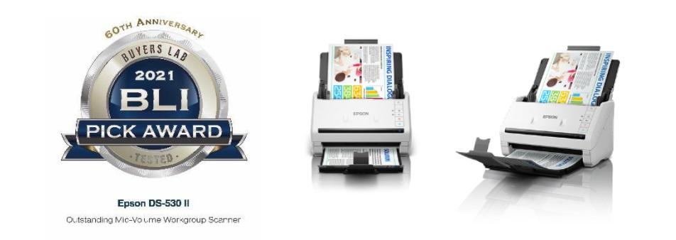 Epson WorkForce DS-530II Scanner