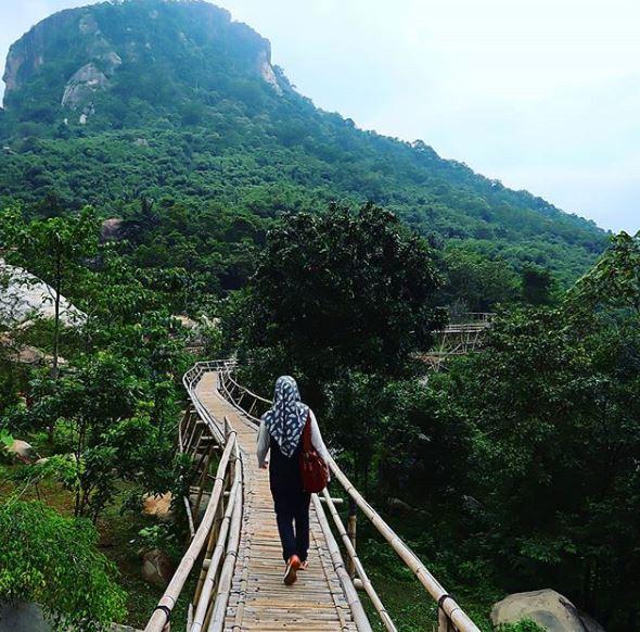 Blog Husni I Pohan Jalan Jalan Ke Gunung Lembu Part 3 Dari 5 Jembatan Bambu Sasak Panyawangan