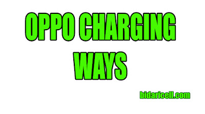OPPO A3S CHARGING WAYS