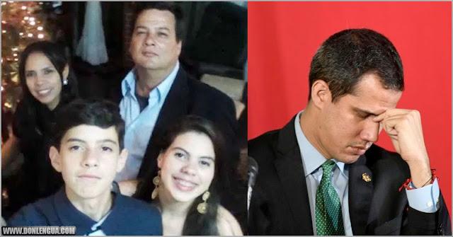 Régimen secuestró a un miembro del equipo de Guaidó junto a toda su familia