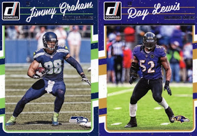 2015 Donruss Jimmy Graham & Ray Lewis