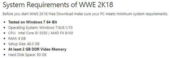 Wwe News How To Download Wwe 2k18 For Pc Free