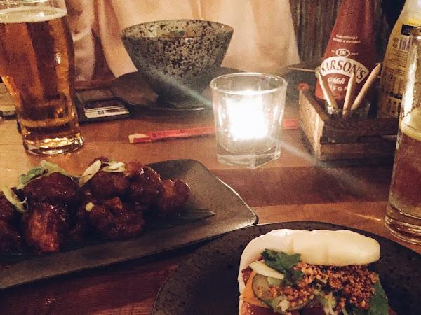 The Ninja Kitchen at Bourbon Bar and Lounge, Frederick Street