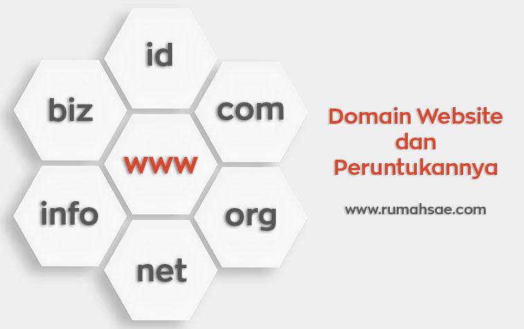 Macam-Macam Domain Website Beserta Peruntukannya