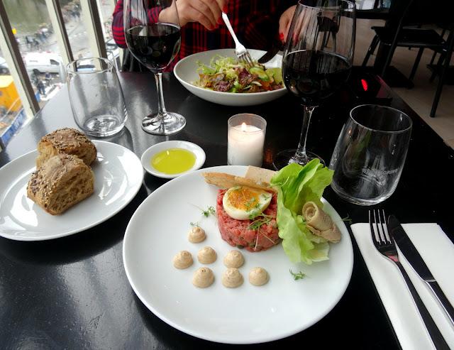 Lunch BAUT & Dreesman in Amsterdam