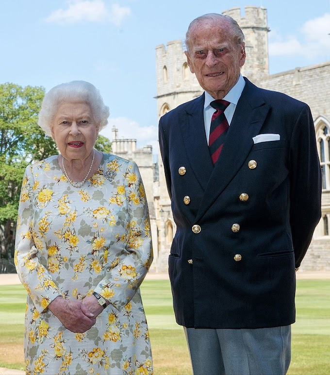 Royal family rings in Prince Philip's 99th birthday with new photo of him and Queen Elizabeth
