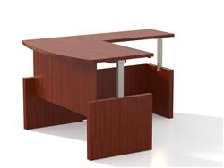 Aberdeen Ergonomic L Shaped Desk