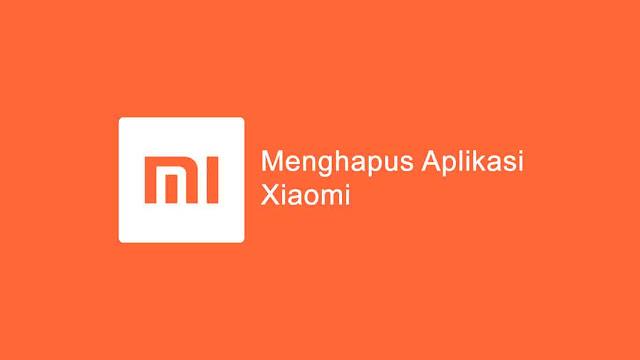 Menghapus aplikasi bawaan di Hp Xiaomi Redmi tanpa melalui proses root hp