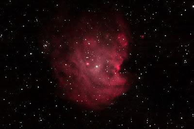 """NGC 2174 nebulosa """"Cap de mico"""" a Gemini"""