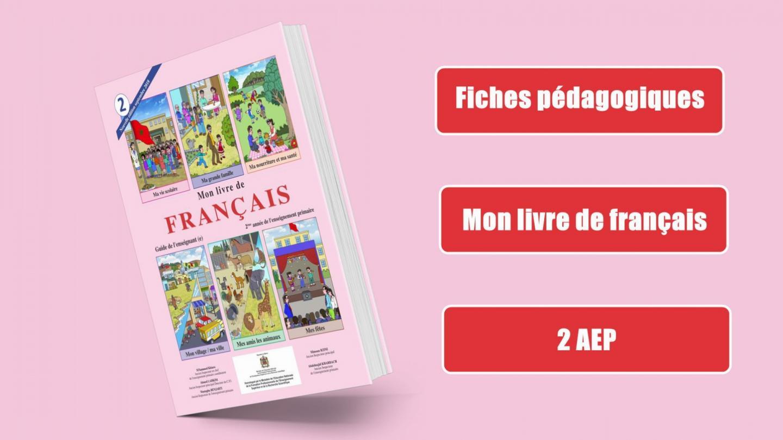 Fiches Pedagogiques Mon Livre De Francais 2aep 2018