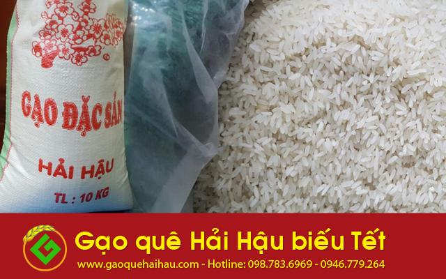 Gạo tám xoan - Gạo đặc sản làm quà biếu Tết 2017