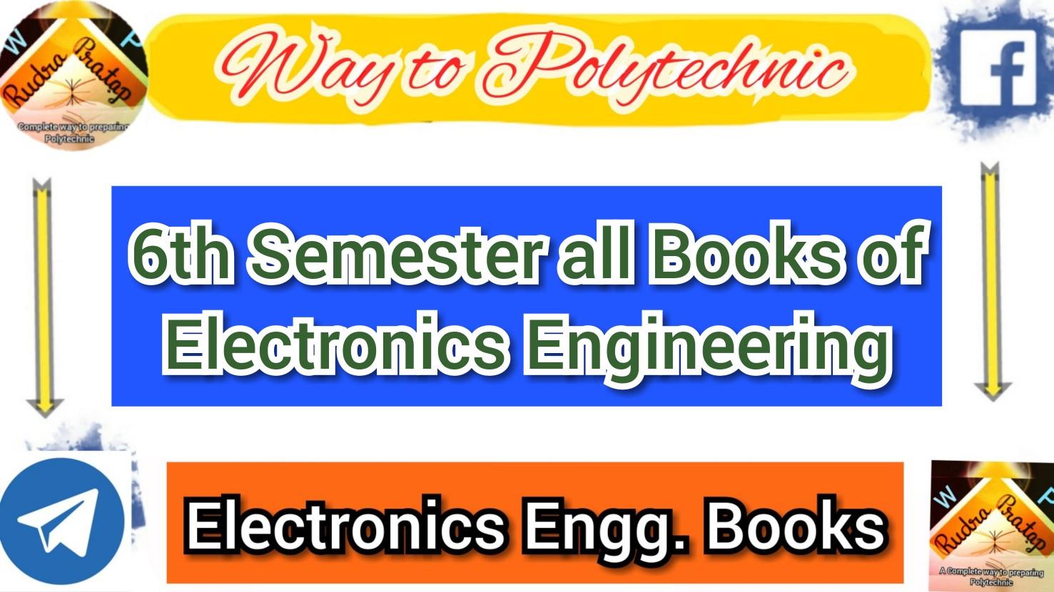 Download all books of 6th semester Electronics | SBTE Bihar Diploma