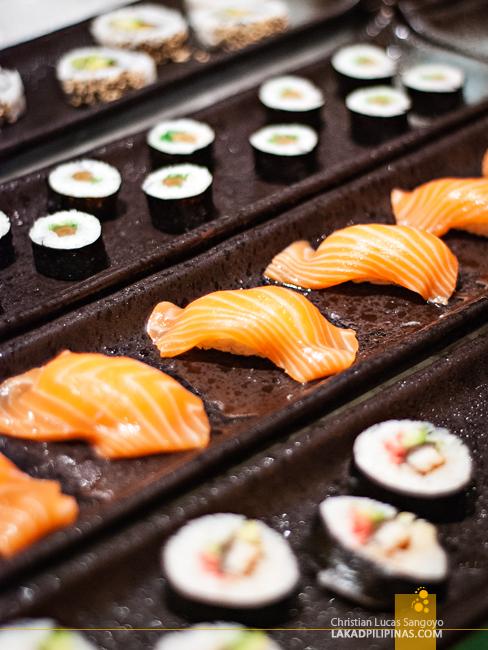 Belcancao Buffet Japanese Spread