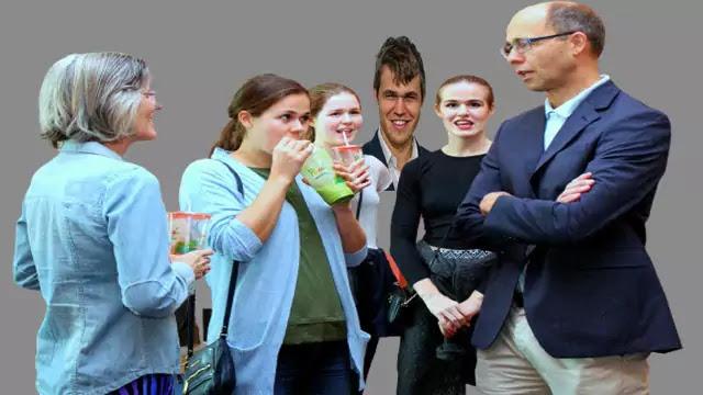 Magnus Carlsen Parents and Sisters