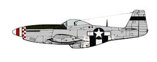 P-51D Invasion Stripes