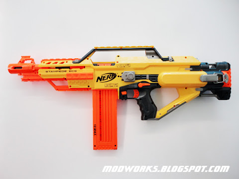 Nerf Stampede Quot Brass Breech Quot Mod Guide Modifications