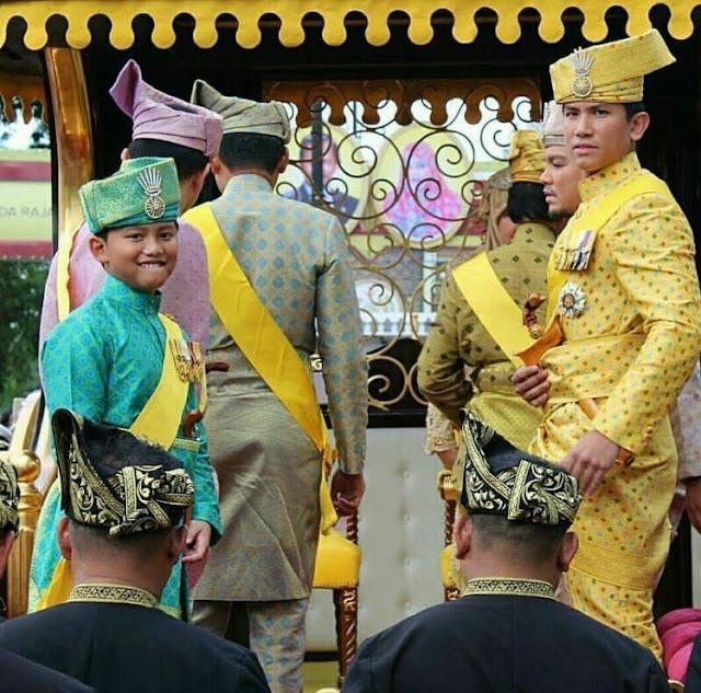 Putera Mateen jadi perhatian ketika sambutan Jubli Emas Sultan Brunei