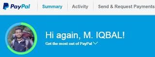 Foto Tampilan Paypal Terbaru Sejak Juli 2016