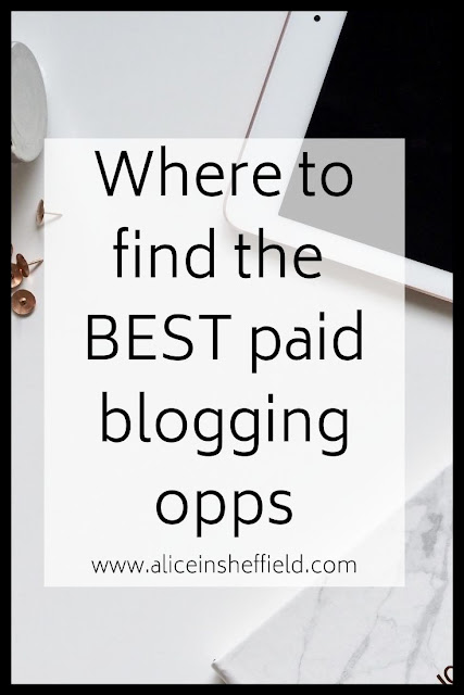 Paid Blogging Opportunities