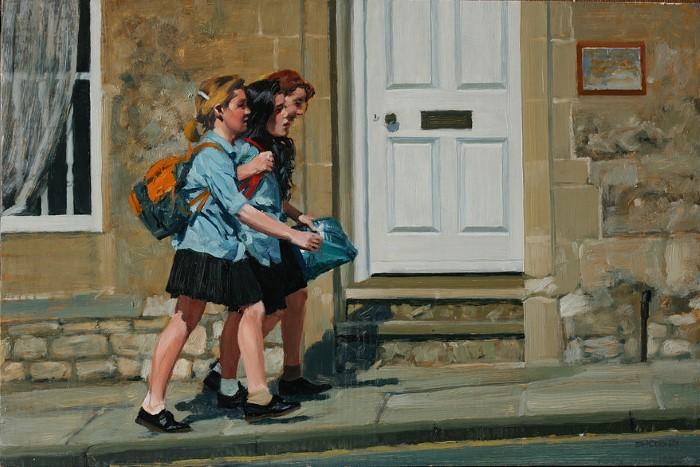 Современный британский художник-портретист. David Cobley