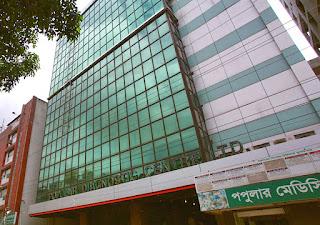 Popular Diagnostic Centre Dhanmondi Location
