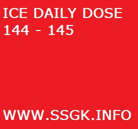 ICE DAILY DOSE 144 - 145
