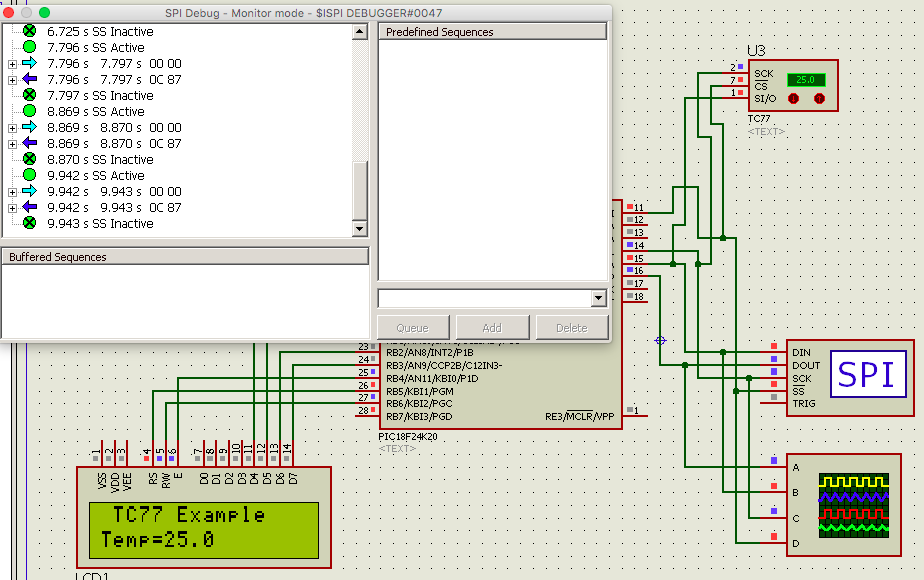 Learning PIC Programing with XC8 Compiler: SPI Example Using