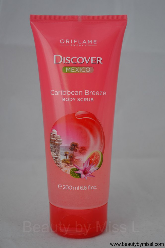 Oriflame Discover Mexico Caribbean Breeze Body Scrub review