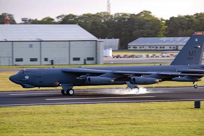 USAF B52 bomber Europe Lakenheath