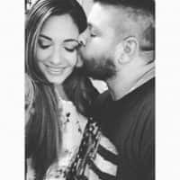 Kevin Owens Wife Karina Elias Steen Kissing