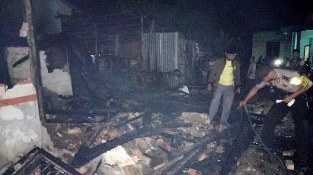 Pasangan Suami Istri Bersama Seorang Anaknya Tewas Akibat Kebakaran yang Terjadi di Sarolangun
