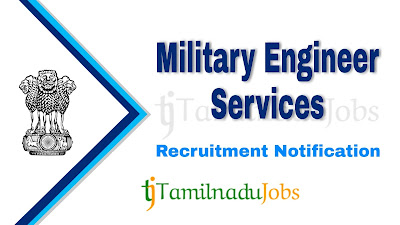 MES Recruitment notification 2021, govt jobs for diploma, govt jobs for graduate, central govt jobs, defence jobs