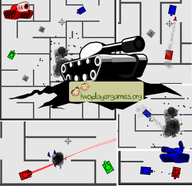 Tank Trouble 1 >> Happy Wheels Game Of Your Choice Second Version Of Tank Trouble