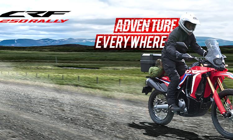 CRF250 Rally, Motor Dual Purpose Terbaru dari Honda
