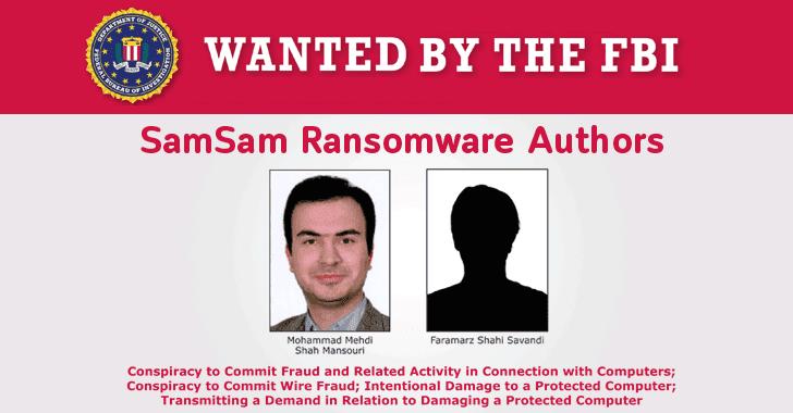 Estados Unidos acusa a dos hackers iraníes por ataques de SamSam Ransomware